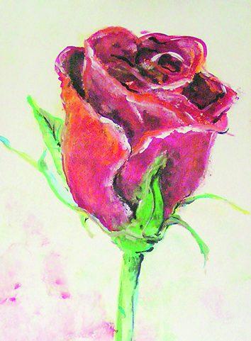 Rose für meine Mutter